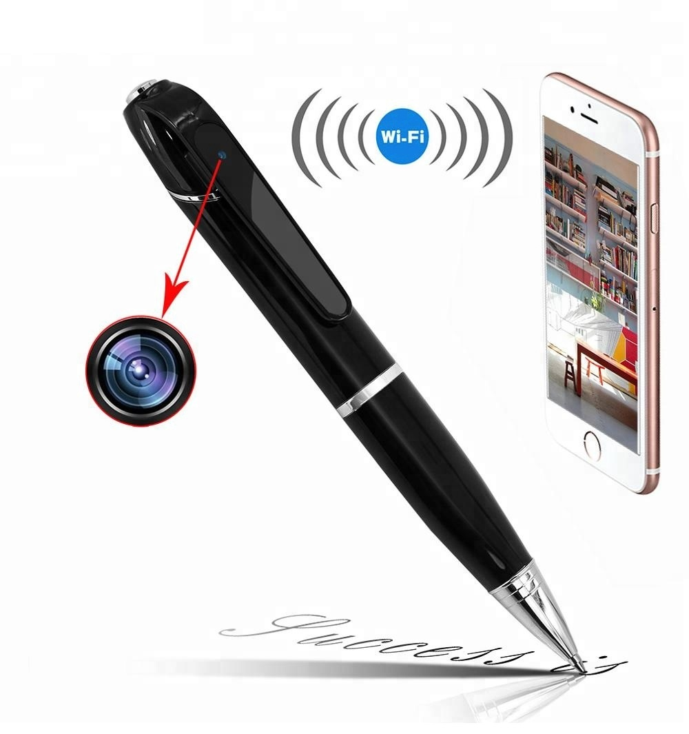 Spy Pen Camera wifi 1080P HD Mini P2P Wireless Hidden Camcorder Audio Video Recorder