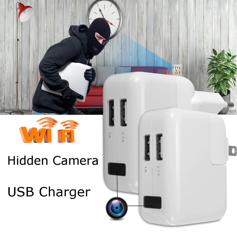 Spy USB Power Adapter Wifi Wireless Hidden Camera – Long Recording Backup