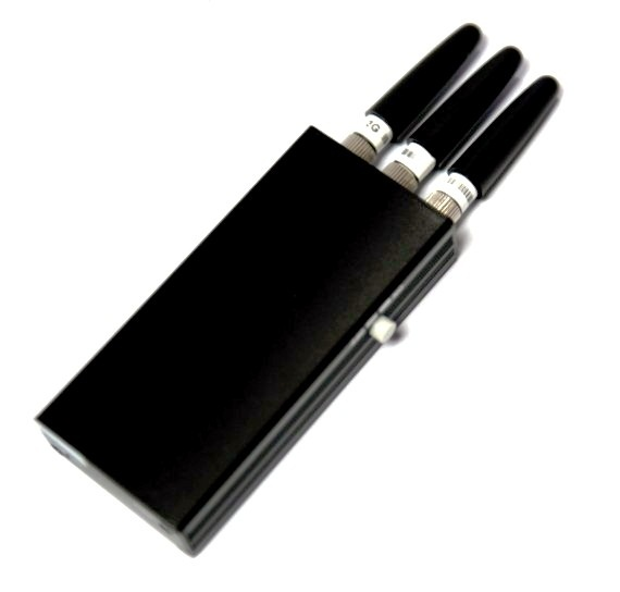 3 Antenna Portable 3G GSM CDMA Pocket Cell phone Frequency Jammer