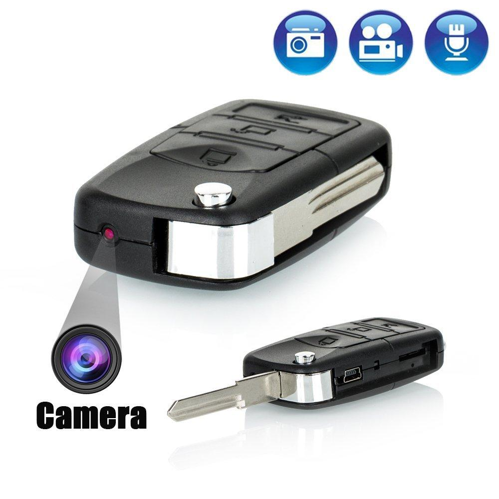 Car Key Mini Portable Hidden Spy Video Camera Recording up to 2 Hours